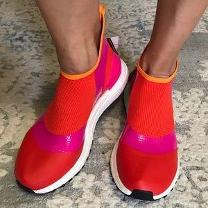 Stella McCartney ultraboost pink orange sneakers